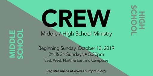 Triumph's The Crew (Middle/High School Ministry)