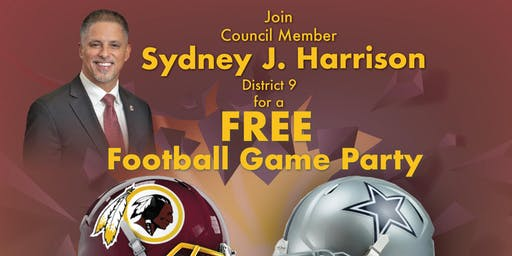 Tailgate and Football with Councilman Harrison