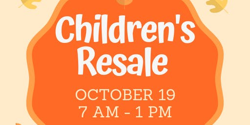 LPM's 2nd Annual Fall Children's Resale