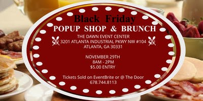Black Friday Popup Show & Brunch