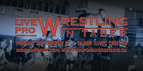 PPW live in Taber! tickets