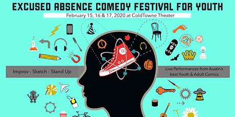 Excused Absence Comedy Festival Passes, '20 tickets