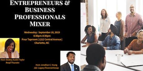Entrepreneurs & Business Professionals Mixer tickets