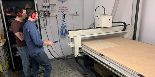 CNC Multicam Router Induction