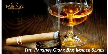 Pairings Cigar Bar Insider Series tickets