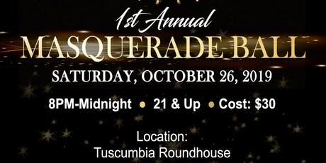 1st Annual Masquerade Ball tickets