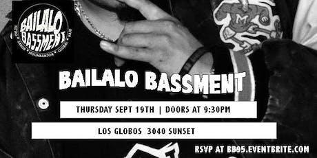 Jueves Latino   Bailalo Basement tickets