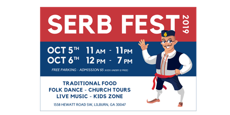 Serb Fest Atlanta | October 5th & 6th tickets