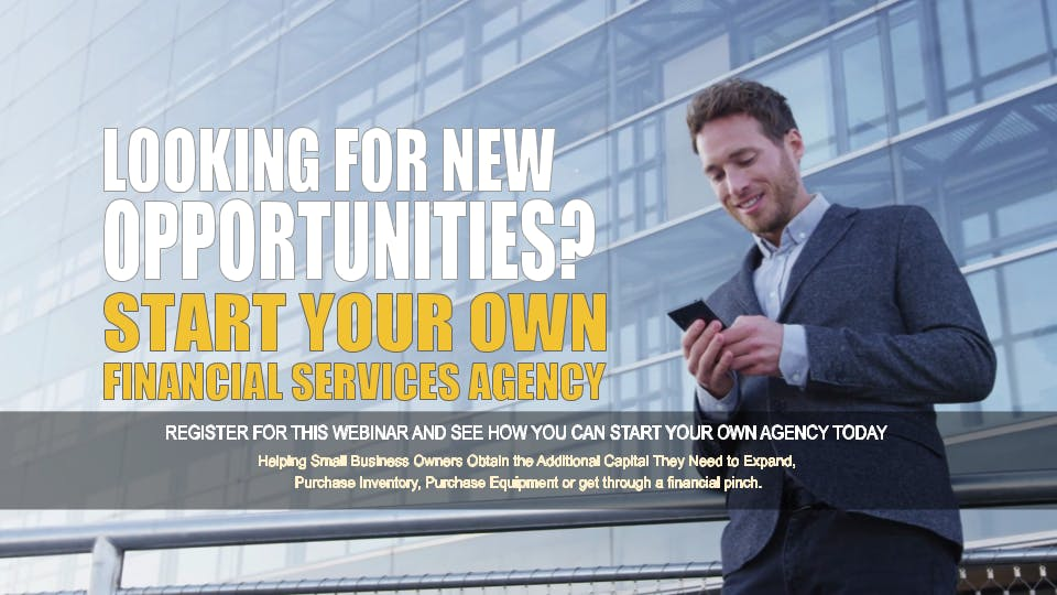 Start your Own Financial Services Agency Houston TX
