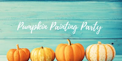 Pumpkin Painting Party