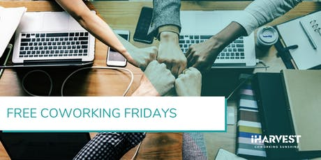 Free Coworking Fridays - January 2020 tickets