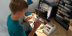 Zen Maker Club - Electronics - After School Program - Queen Mary Elementary
