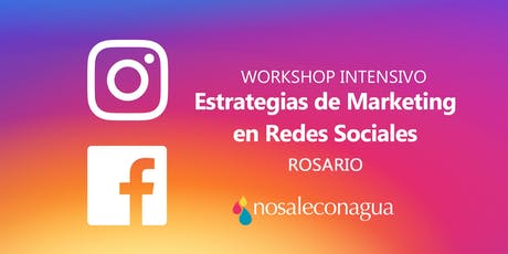 Marketing en Redes Sociales #Rosario 27/9 entradas