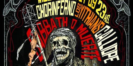 Sabbath O Muerte Vol. II (Chorinferno, Calliope, Los Yithians)
