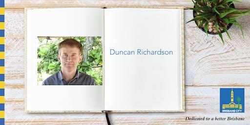 Meet Duncan Richardson - Corinda Library
