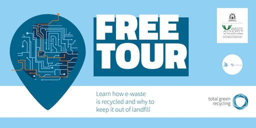 E-waste Recycling facility tour
