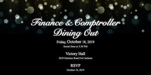 Finance & Comptroller Dining Out