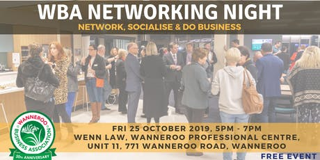 Free Networking Night - Wanneroo tickets
