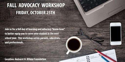 Dyslexia Learning & Advocacy Workshop