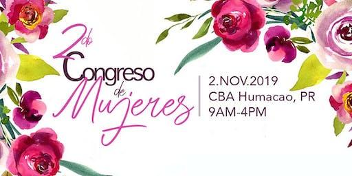 """Segundo Congreso de Mujeres: """"Descubriendo los tesoros de Dios"""""""