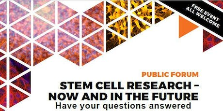 Stem Cell Research - Now and in the Future tickets