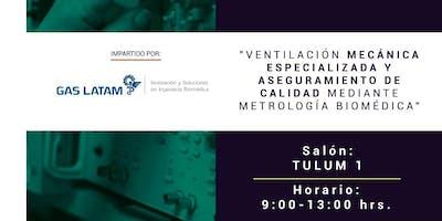 Ventilación mecánica especializada y aseguramiento de calidad