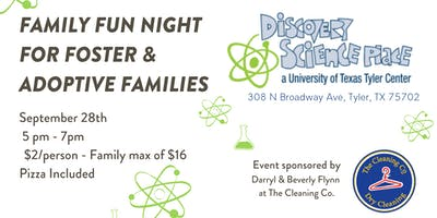 Family Fun Night for Foster & Adoptive Families at Discovery Science Place