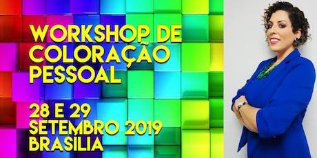 Workshop de Coloração Pessoal  incluindo Análise de Coloração de Cabelo ingressos