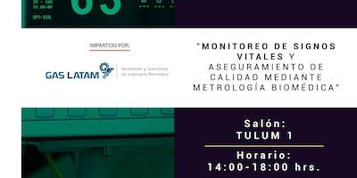 Monitoreo de signos vitales y aseguramiento de calidad mediante Metrología