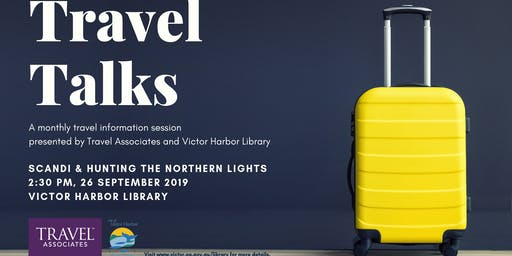 Travel Talks - Scandi & Hunting the Northern Lights