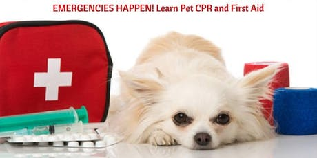 Pet CPR and First Aid tickets
