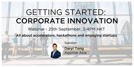 Getting Started: Corporate Innovation tickets