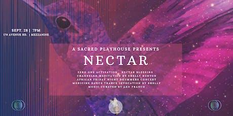 NECTAR tickets