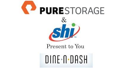 Dine & Dash with Pure Storage & SHI tickets