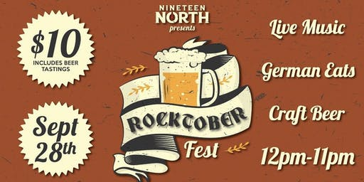 Nineteen North presents Rocktoberfest Bands & Brews