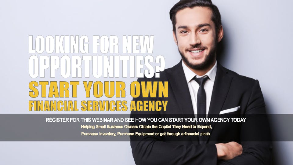 Start your Own Financial Services Agency San Antonio TX