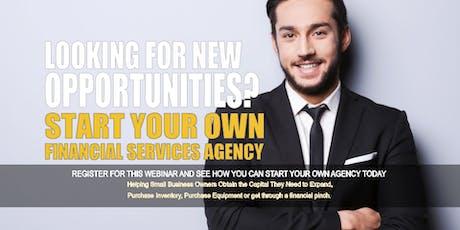 Start your Own Financial Services Agency Phoenix AZ tickets