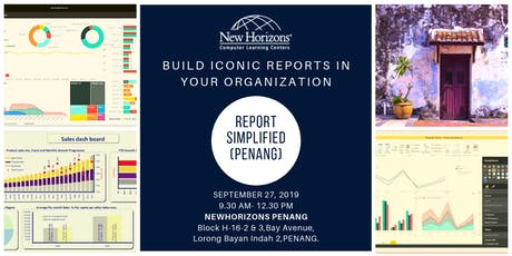 Create Insightful Reports Using Word, Excel and PowerPoint (FREE) PENANG tickets
