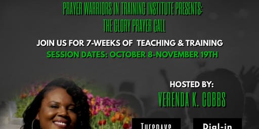 Prayer Warriors in Training Institute Fall Session