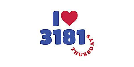 3181 Thursdays tickets
