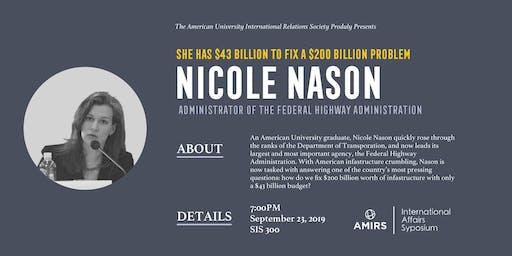 AMIRS Presents: Nicole Nason