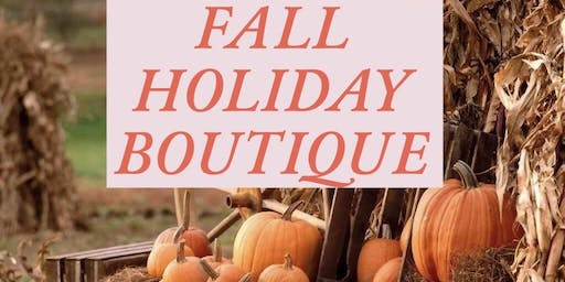 Fall Holiday Boutique