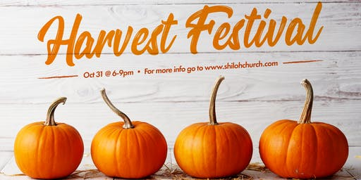 FREE: Harvest Festival 2019, a Halloween Alternative
