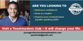 Young Professionals SE Toastmasters Club
