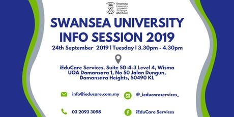 SWANSEA UNIVERSITY INFO SESSION tickets