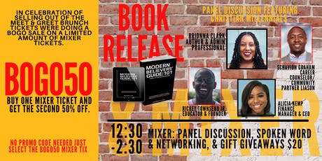 MBG:101 Book Release & Mixer tickets