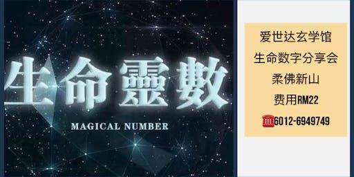 生命数字分享会 Numerology(柔佛新山)