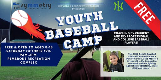 *FREE* Benefit Baseball Camp