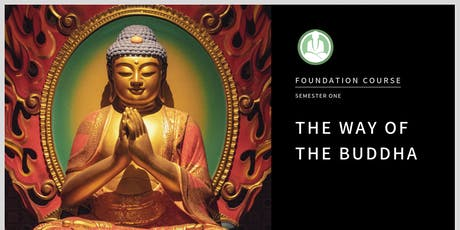 The Way of the Buddha - A Foundation Level Meditation Course in Irvington tickets