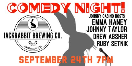Comedy Night at Jackrabbit Brewing Co. tickets